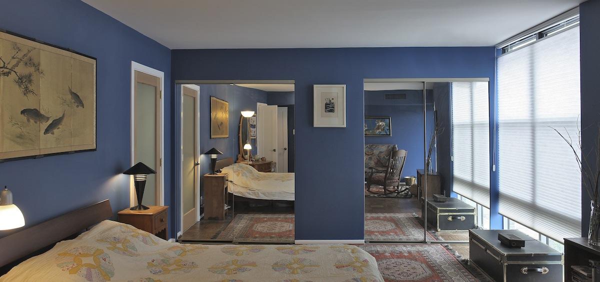 green living master bedroom