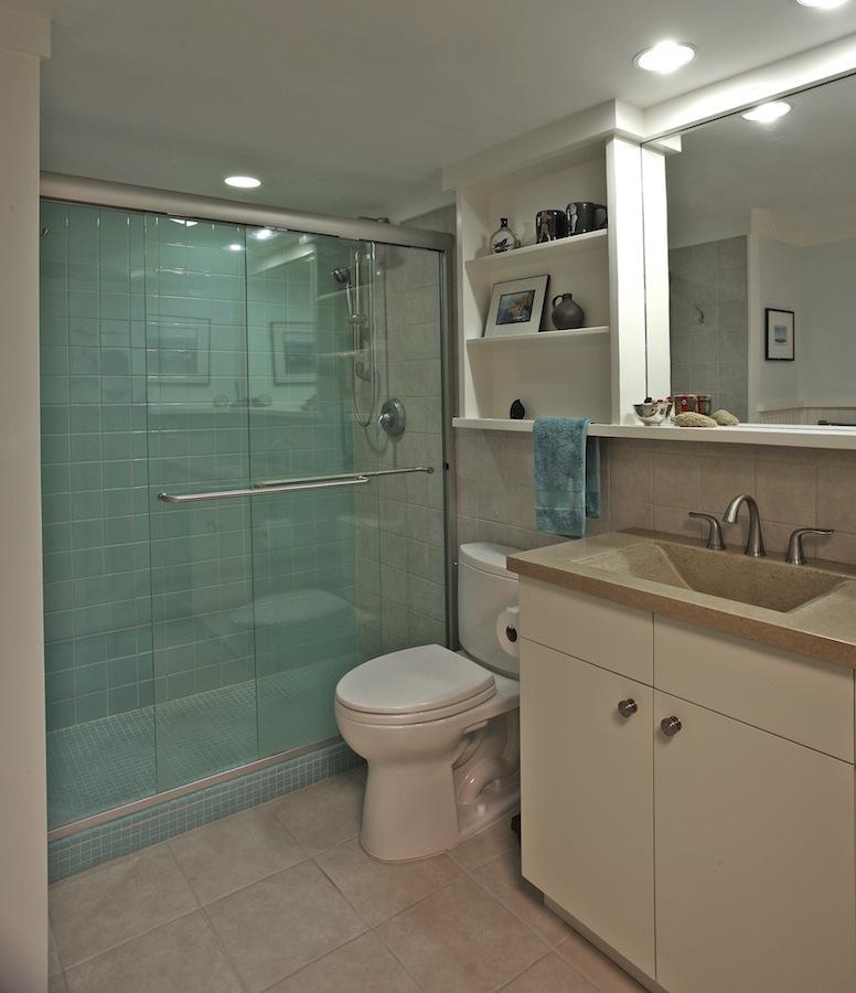 green remodeling bath
