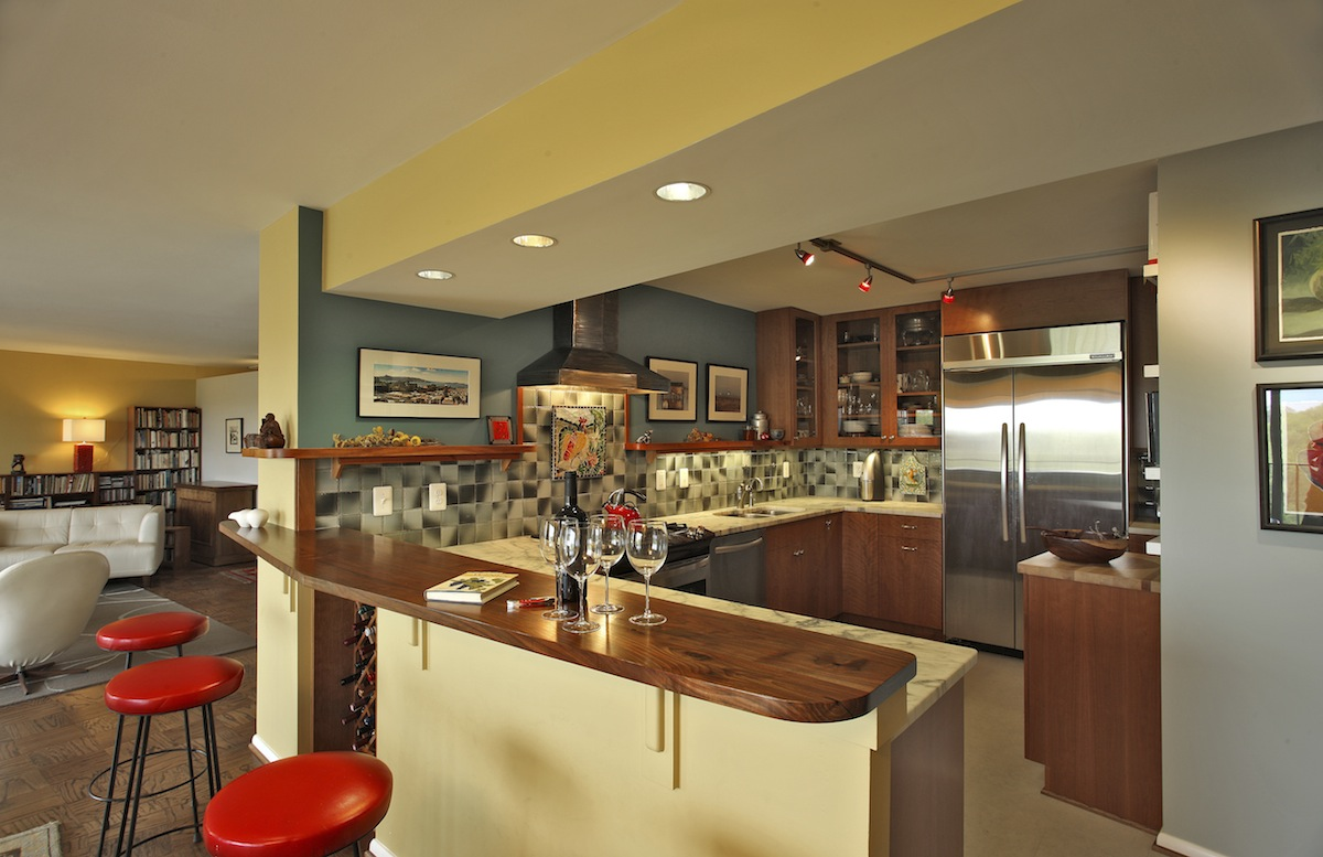 green remodeling kitchen 2