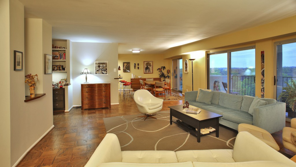 sustainable living in green remodeled condo