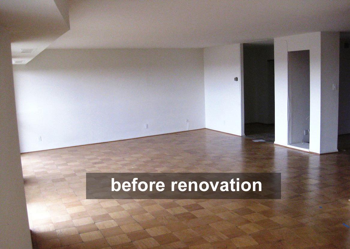 condo before renovation