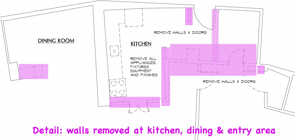 condo detail before renovation