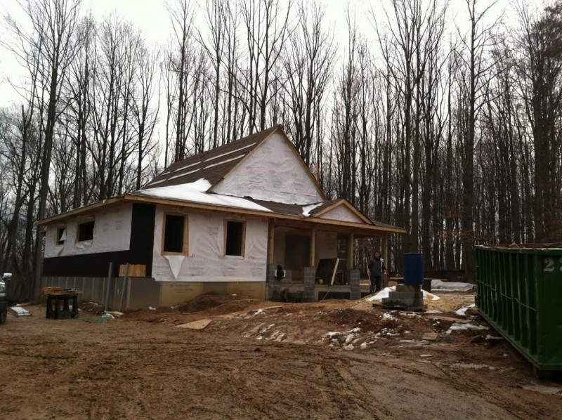 Passive House Rough In Phase
