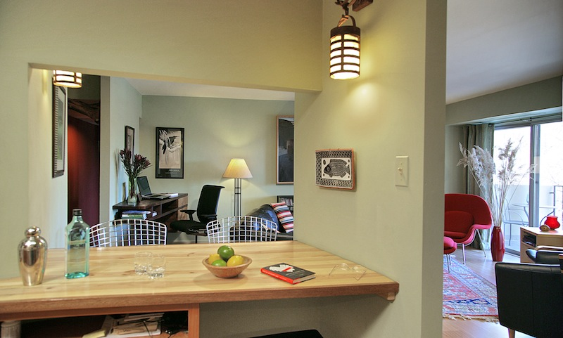 green condo remodel lets light and air circulate