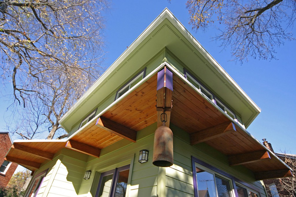 passive solar designed two story addition