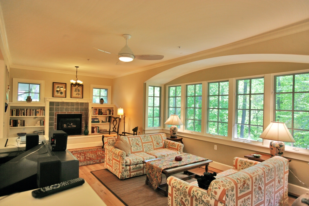 parkcrest living room
